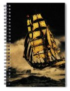Before The Wind Spiral Notebook