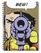 Beg Spiral Notebook
