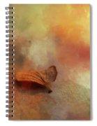 Beginning Autumn  Spiral Notebook