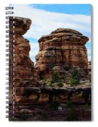 Beginning Of The Slick Rock Trail Spiral Notebook