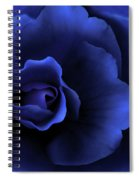 Begonia Floral Dark Secrets Spiral Notebook