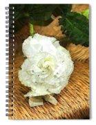 Begonia In Repose Spiral Notebook