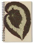 Begonia Rex Spiral Notebook