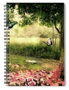 Behind Our House Spiral Notebook