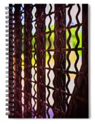 Behind The Bars Spiral Notebook