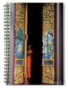 Behind The Doors Spiral Notebook