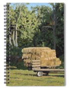 Behind The Grove Spiral Notebook
