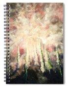 Behind The Light Spiral Notebook