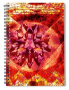 Behold The Jeweled Eye Of Blood Spiral Notebook