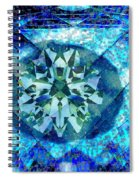 Behold The Jeweled Eye Spiral Notebook