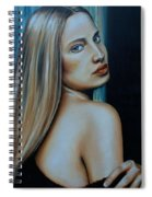 Being Emma, Nude Portrait Art Spiral Notebook