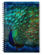 Being Yourself - Peacock Art Spiral Notebook