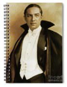 Bela Lugosi As Dracula Spiral Notebook