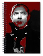 Bela Lugosi Mark Of The Vampire 1935-2015 Spiral Notebook