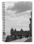 Belem And The Boat Spiral Notebook