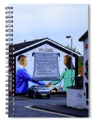 Belfast Mural - No More Spiral Notebook