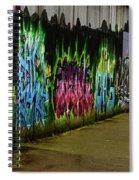 Belfast - Painted Wall - Ireland Spiral Notebook