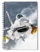 Belgian F-16 Falcon 1 Spiral Notebook