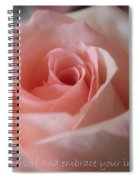 Believe In Yourself Card Or Poster Spiral Notebook