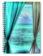 Belize Curtains #1 Spiral Notebook