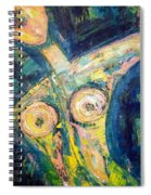 Bell Bottom Blues Spiral Notebook