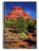 Bell Rock Dream Spiral Notebook
