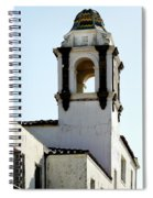 Bell Tower In Santa Cruz Spiral Notebook