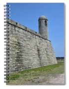Bell Tower Of The Castillo Spiral Notebook