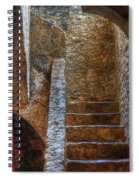 Bell Tower Stairs Spiral Notebook