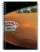 Bell X-1  Glamorous Glennis Spiral Notebook