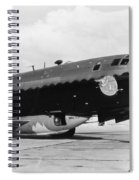 Bell X-1 Resting In Belly Of B-29, 1947 Spiral Notebook