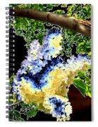 Bella Flora 10 Spiral Notebook