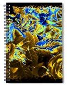 Bella Flora 9 Spiral Notebook