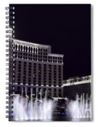 Bellagio And Caesars Palace Spiral Notebook