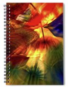 Bellagio Ceiling Sculpture Abstract Spiral Notebook