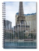 Bellagio Fountain 1 Spiral Notebook