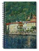 Bellano On Lake Como Spiral Notebook