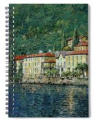 Bellano On Lake Como Spiral Notebook
