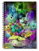 Belle De Nuit Spiral Notebook