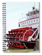 Belle Of Louisville Spiral Notebook