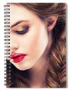 Belle Silk Spiral Notebook
