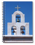 Bells - San Xavier Del Bac - Arizona Spiral Notebook