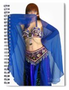 Belly Dance Modeling. Sofia Of Ameynra Spiral Notebook