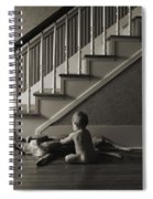 Belly Scratch Spiral Notebook