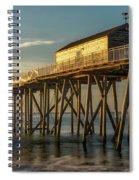 Belmar Fishing Pier Spiral Notebook