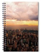 Belo Horizonte - The Cityscape From Above Spiral Notebook