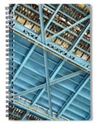 Below The Bridge Spiral Notebook