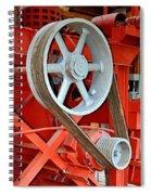 Belt Drive Spiral Notebook