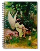 Beltaine Angel Spiral Notebook