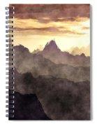 Belzoni Mountain Range Spiral Notebook